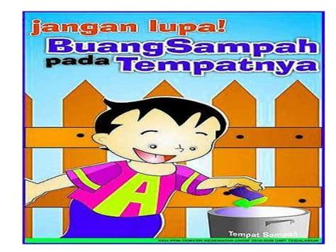 membuat poster tentang kebersihan lingkungan pw ws 2412013