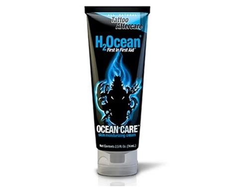 tattoo aftercare products canada ocean care moisturizing cream h2ocean products soin