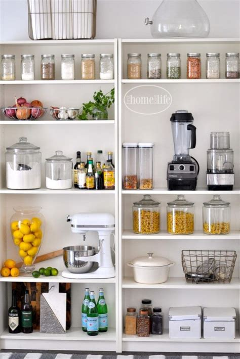Kitchen Cabinet Organizing Systems by 25 Best Ideas About Open Pantry On Pinterest Open