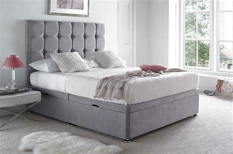 bed with side headboard cavendish ottoman bed with side lift beds on legs