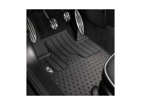 Mini Cooper Countryman Floor Mats by Mini Countryman Front Floor Mat Rubber S Logo Oem