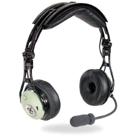 Headset Pilot david clark dc pro passive headset fallon aviation pilot shop