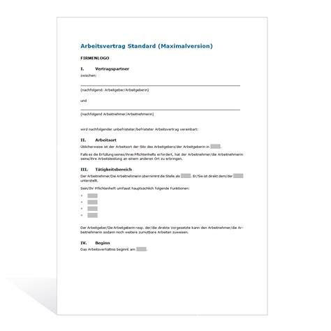 Vorlage Kündigung Arbeitsvertrag Arbeitnehmer Kostenlos Muster Arbeitsvertrag Maximalversion