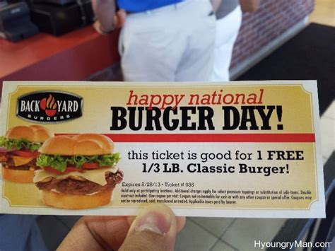 backyard burgers coupons backyard burgers coupons 28 images happy national hamburger day enjoying mine at