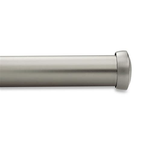 kirsch curtain rod kirsch satin nickel curtain rod bed bath beyond