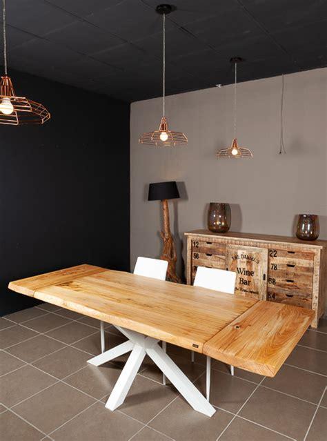 tavolo di legno allungabile tavolo allungabile in legno naturale di castagno stephen