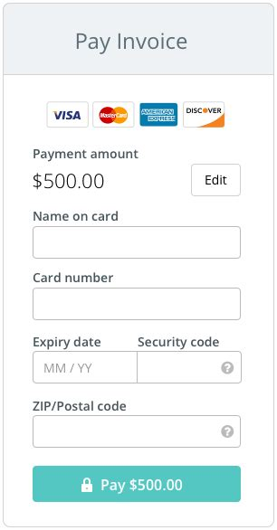 Credit Card Form Layout The Anatomy Of A Credit Card Form Ux Design Collective