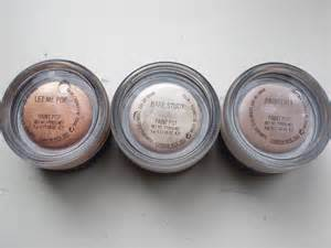 paint in mac mac paint pots vs benefit creaseless shadows floating in dreams