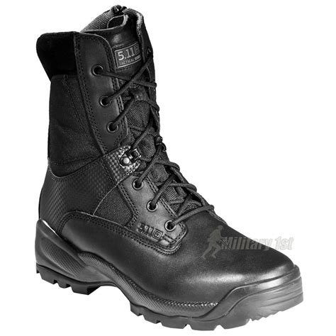 5 11 atac boots 5 11 atac 8 quot side zip boot black