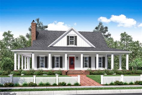 wrap around porches house plans 3 bedrm 2084 sq ft southern home with wrap around porch 142 1175