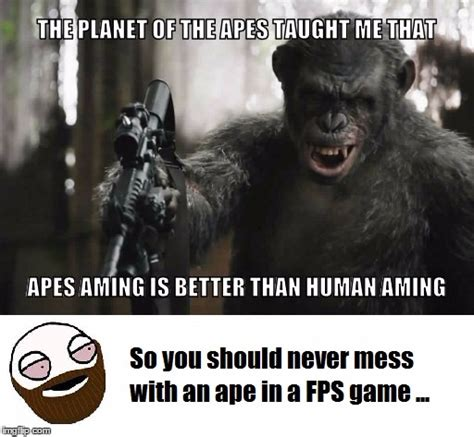 Planet Of The Apes Meme - apes imgflip