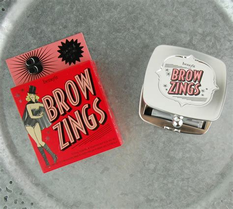 Benefit Brow Zings 5 the new benefit cosmetics brow collection swatches review