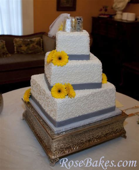 yellow and grey wedding cakes a wedding cake blog gray yellow wedding cake vanilla cake recipe