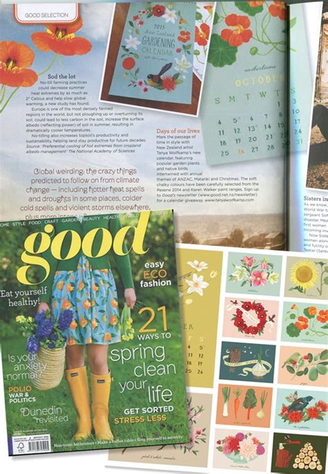 illustrated new zealand gardening calendar wolfk stone - Nz Free Sles Giveaways