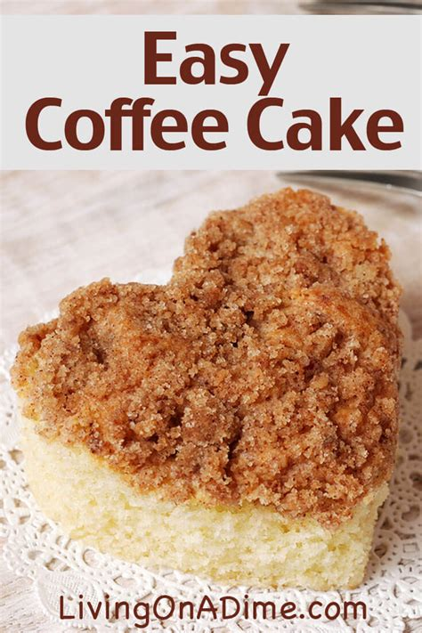 Coffee Cake Two Ways Beginner And Expert by Easy Coffee Cake Recipe Top Of The Morning Coffee Cake