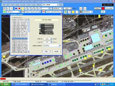 airport design editor gate how to use a satellite image in airport design editor