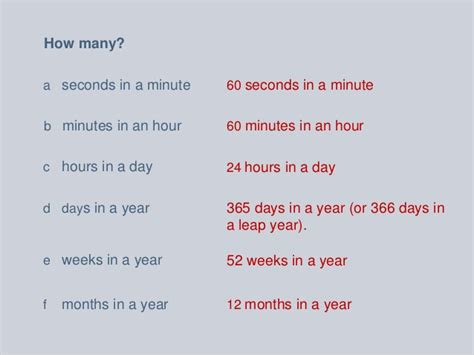 how many weeks in a year time and timetables