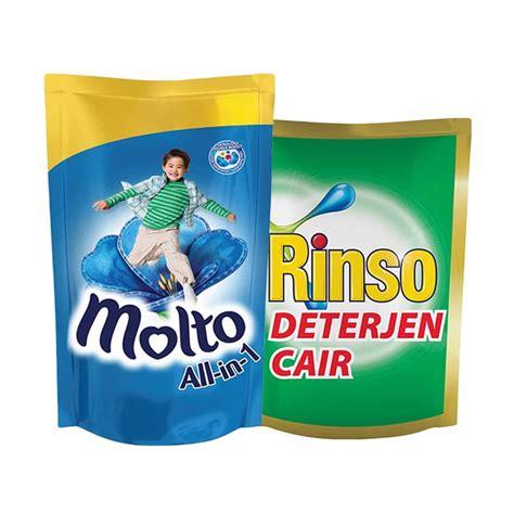 Rinso Anti Noda Cair jual paket hemat cuci baju 01 rinso anti noda cair 800