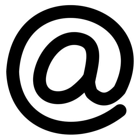 asal muasal penggunaan lambang    email