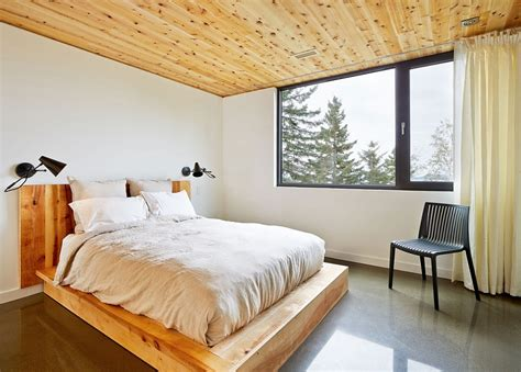 expansive quebec residence charms with inviting warmth of wood expansive quebec residence charms with inviting warmth of wood
