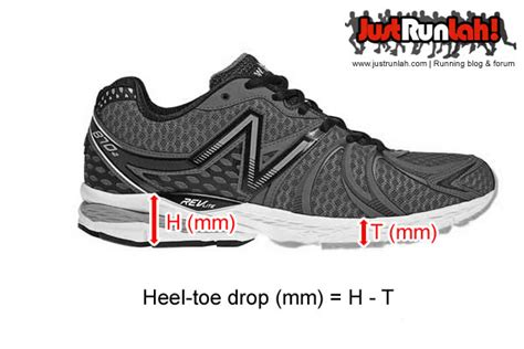 running shoes heel drop what is a heel toe drop and shoe stack height just run lah
