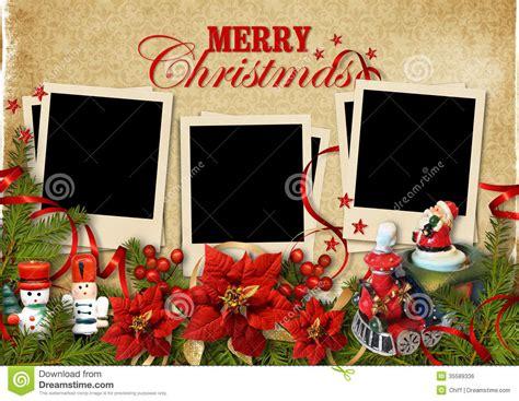 christmas vintage background  frames  family royalty  stock image image