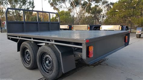The Bed Trailer by Flat Top Trailers For Sale Rent In Melbourne Blue