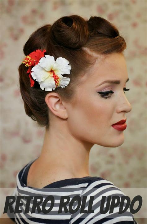 Retro Hairstyles by 18 Graceful Vintage Hairstyle Tutorials Styles Weekly