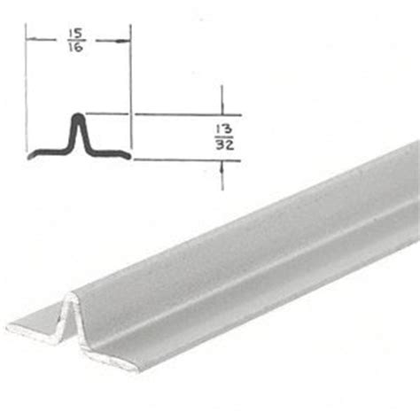 Sliding Screen Door Track by Crl Satin Anodized Series 3606 Lower Track For Sliding