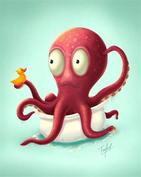 illustrator tutorial octopus 99 best tentacular images on pinterest octopuses