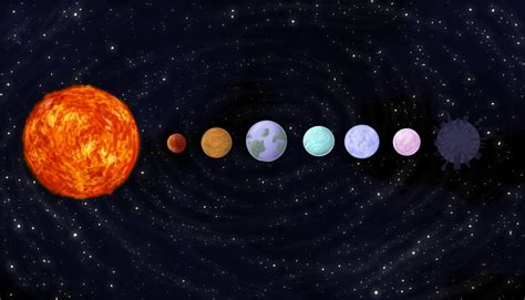 solar system drawing pics about space