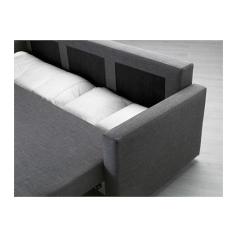 friheten three seat sofa bed skiftebo grey ikea