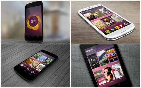 ubuntu themes for android ubuntu theme for android by bagarwa on deviantart