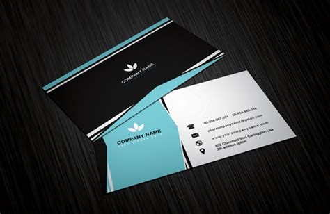 minimalist business card template creative clean minimalist business card template free
