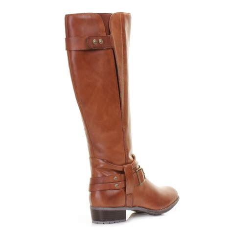 womens hush puppies chamber leather knee high