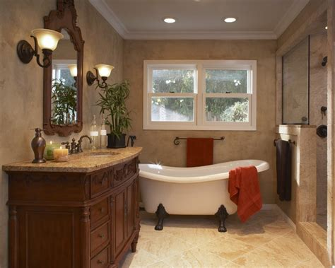 Craftsman House Remodel bathroom craftman style bathroom with slipper tub design