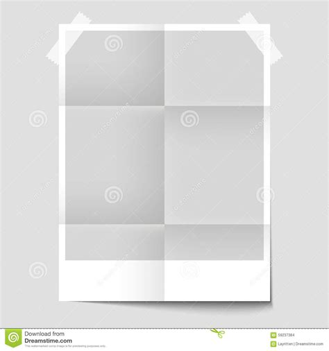 blank templates for posters isolated blank poster for the presentation of design stock