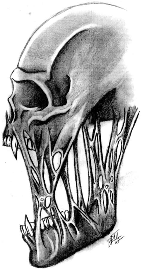 Cool Drawing Of Skulls Drawing Art Library Skull On