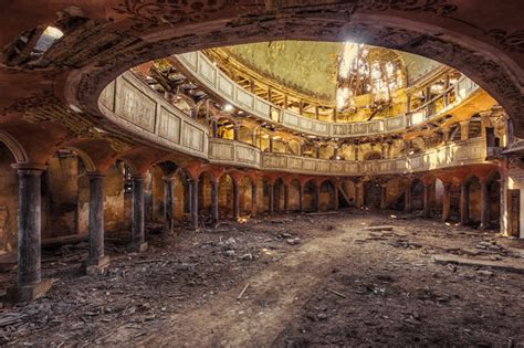 abandoned structures photographer finds abandoned buildings in europe and