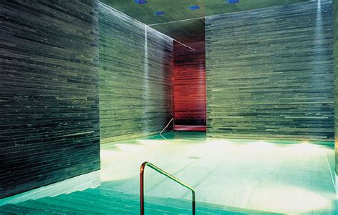 Zumthor Vals by Vladimir Perovic Therme Vals By Zumthor