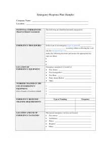 Emergency Preparedness And Response Plan Template by Best Photos Of Sle Emergency Plan Emergency