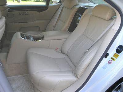 lexus ls 460 reclining back seat 2007 lexus ls 460 preview carparts com
