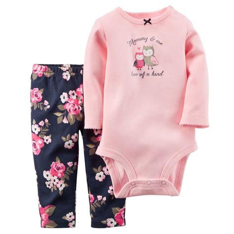 Baby Bodysuits 9month carters newborn 3 6 9 12 18 24 months bodysuit set