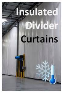 insulated industrial curtains industrial divider curtains akon curtain and dividers
