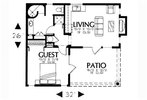 measurements for 600 sq ft home studio design