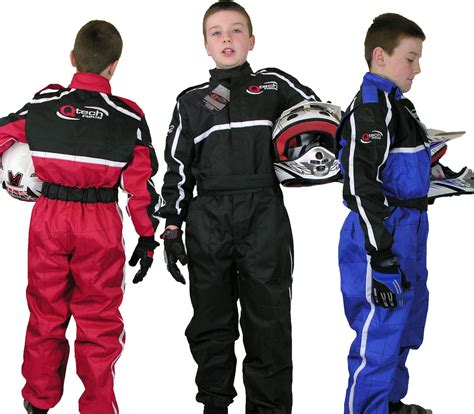 kids motocross racing childrens kids race suit overalls karting motocross racing
