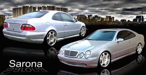 Mercedes Upholstery Kits Custom Mercedes Clk Body Kit Sarona