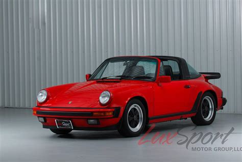 Porsche 911 Targa 1988 by 1988 Porsche 911 Carrera Targa Stock 1988110 For Sale