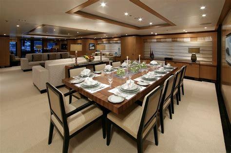 amnesias formal dining room superyachts news luxury