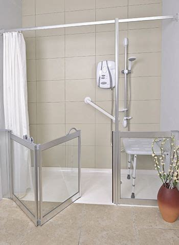 grants for bathrooms for the disabled contour corner access wf1 luxe silver half height